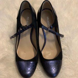 FRANCO SARTO mary jane platform heels SIZE 7.5